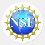Logo de NSF par demande Adhésifs Ronds