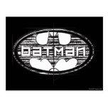 Logo d'ébauche de Batman | Carte Postale