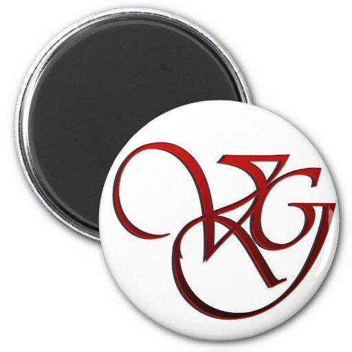 Logo d'équipe de rue de Valeria Gonzales de Web Magnets