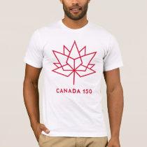 Logo du Canada 150 T-shirt
