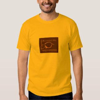 Logo du TRP des hommes/adresse de Web T-shirt