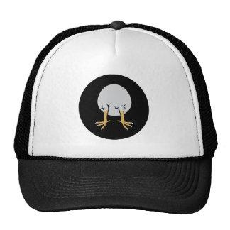 Logo - egg with leg trucker hat