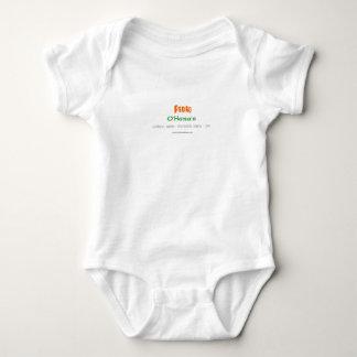 Logo for zazzle words only baby bodysuit