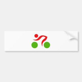 Logo frais de recyclage autocollant de voiture