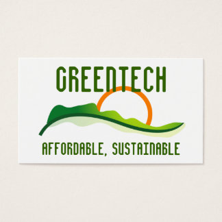 Logo - Green Sunrise Business Card