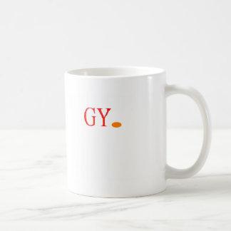 LOGO GY. CLASSIC WHITE COFFEE MUG