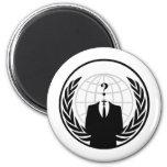 Logo international anonyme magnets