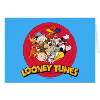Logo LOONEY de caractère de TUNES™ Carte De Vœux
