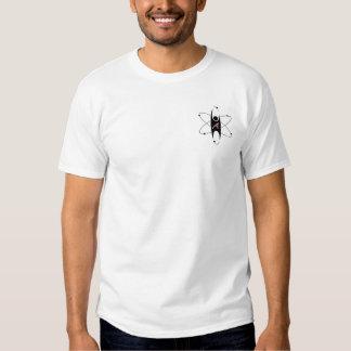 Logo moderne d'athéisme avec le site Web Tee Shirts