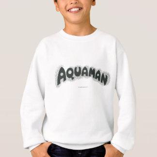 Logo noir grunge d'Aquaman T Shirts