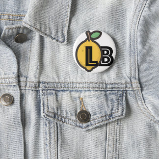 Logo of Lemons and Bananas 2 Inch Round Button