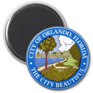 Logo of Orlando, Florida Magnet