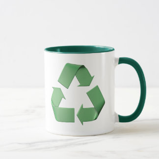 Logo recycling mug