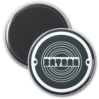 Logo rond de Batman Magnet Rond 8 Cm