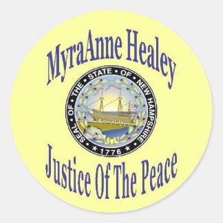 Logo Special JP Myra Classic Round Sticker