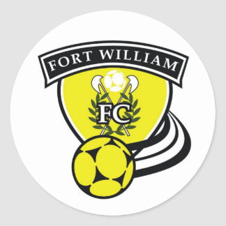 Logo -Team Kit - Fort William High... - Customized Classic Round Sticker