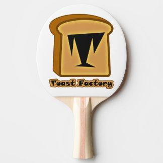 Logo Toastie White Ping Pong Paddle