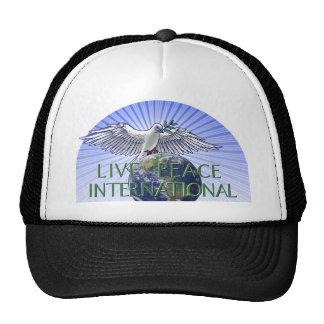 Logo vivant d'International de paix Casquettes