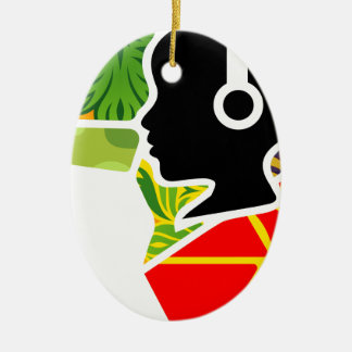 logoo ceramic ornament