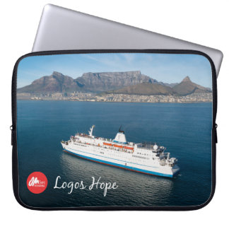 Logos Hope in Cape Town Laptop Sleeve