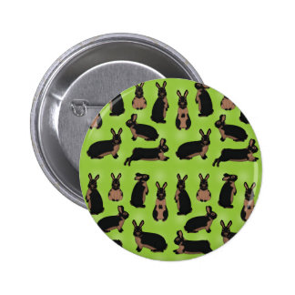 Lohkaninchen selection 2 inch round button