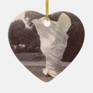 Loie Fuller Dancing Ceramic Ornament