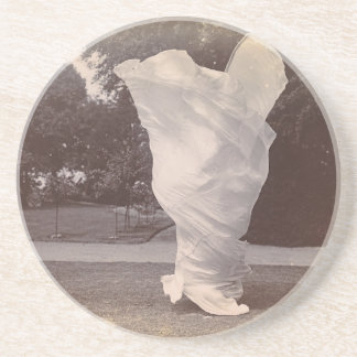 Loie Fuller Dancing Coaster