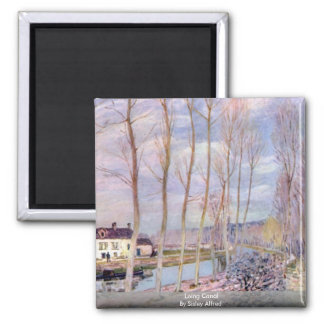 Loing Canal By Sisley Alfred Magnet