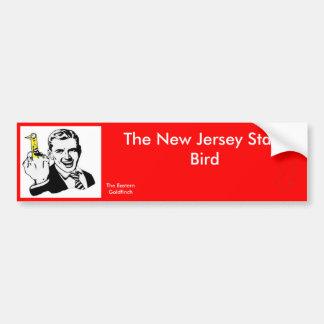 L'oiseau d'état de New Jersey Autocollant De Voiture