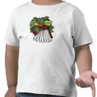 L'oiseau du paradis t-shirts