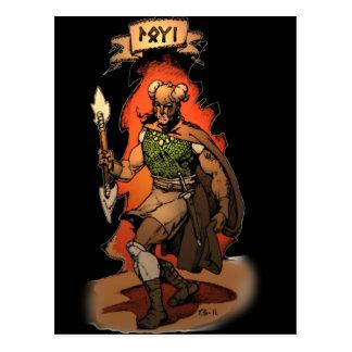 Loki Postcard
