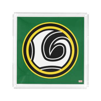 Loki Retro Icon Acrylic Tray