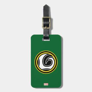 Loki Retro Icon Luggage Tag