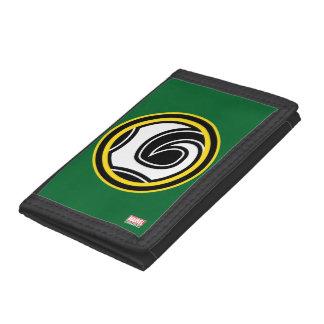 Loki Retro Icon Trifold Wallet