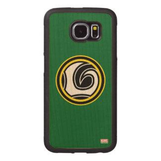 Loki Retro Icon Wood Phone Case