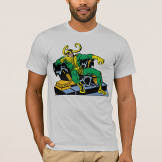 Loki Sitting On Throne T-Shirt