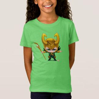 Loki Stylized Art Tee Shirt