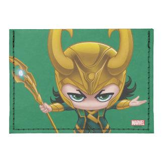 Loki Stylized Art Tyvek® Card Case Wallet