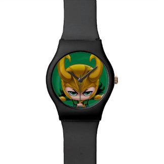 Loki Stylized Art Wrist Watch