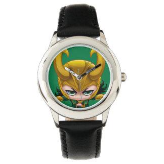 Loki Stylized Art Wrist Watches