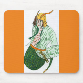 Loki, the god Viking Mouse Pad