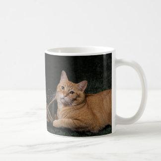 Loki with sled coffee mug