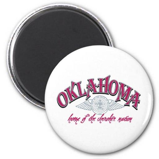 L'Oklahoma Aimants Pour Réfrigérateur
