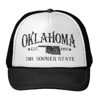 L'Oklahoma - plus tôt l'état Casquette
