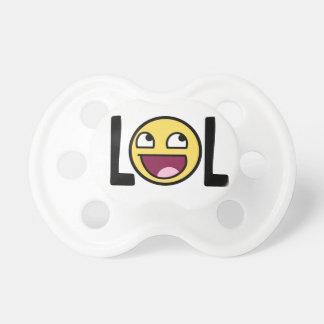 LOL cartoon, funn design Baby Pacifier