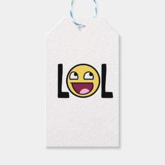 LOL cartoon, funn design Gift Tags
