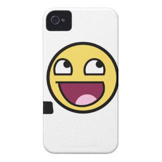 LOL cartoon, funn design iPhone 4 Case-Mate Case