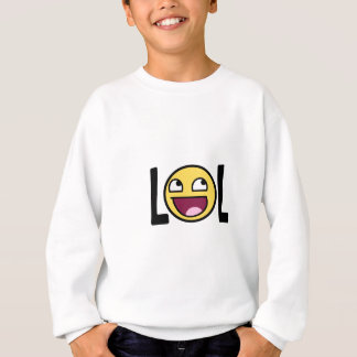 LOL cartoon, funn design Sweatshirt