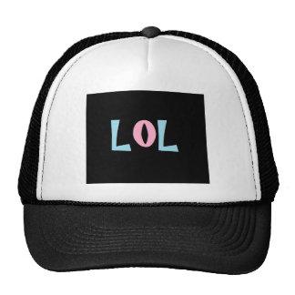 LOL EMO TRUCKER HAT
