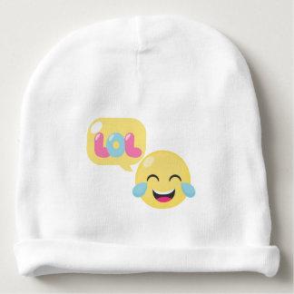 LOL emoji bubble Baby Beanie
